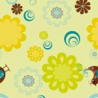 Abstract seamless pattern background — 图库矢量图片