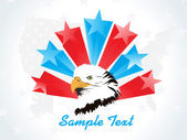 Illustration for happy 4th july celebration — Vector de stock