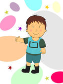 Illustration for children's day celebration — Stock Vector