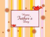 Illustration for father's day celebration — Wektor stockowy