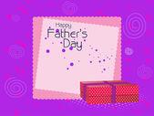 Illustration for father's day celebration — Stockvektor