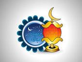 Ilustracja do obchodów ramadanu — Wektor stockowy