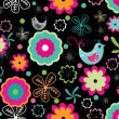 Abstract seamless pattern background — ストックベクター #6530960