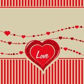 Vektorové ilustrace pro lásku — Stock vektor