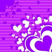 Romantische konzept hintergrund — Stockvektor