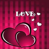 Romantic concept background — Stock Vector