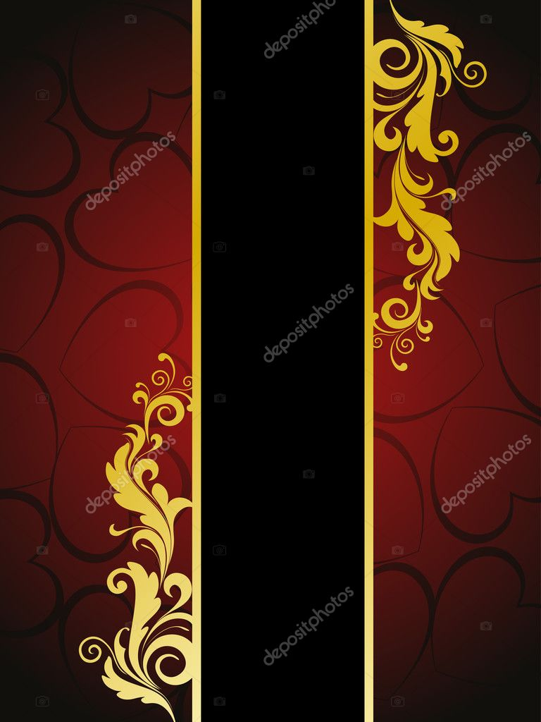 Romantic concept greeting card — Imagen vectorial #6530649