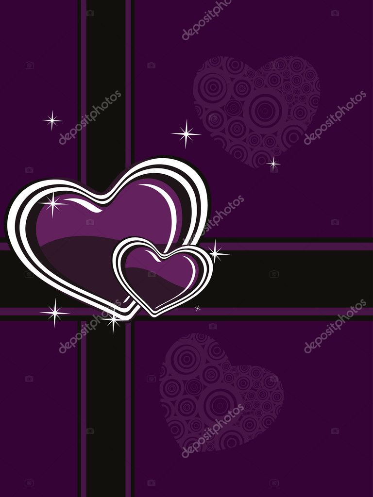Vector- love illustration — Stock Vector #6530804