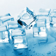 Melting ice cubes — Stock Photo #5544821