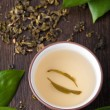 Green tea — Stock Photo #5904197