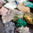 Stock Photo: Various minerals