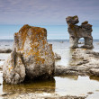 Stock Photo: Limestone pillars