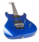 Electric guitar isolated — Stock Photo
