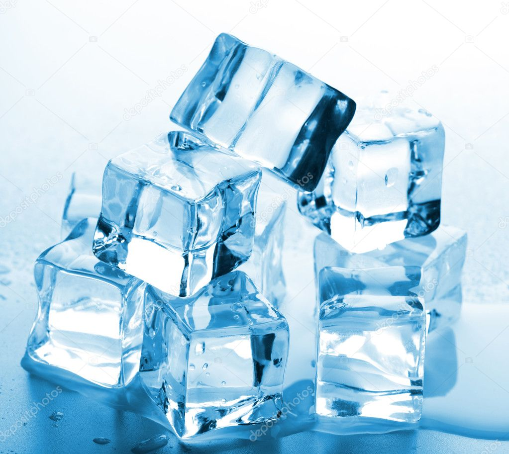 Melting ice cubes  Stock Photo #6114512