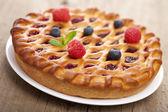 Berry pie — Stock Photo