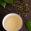 Green tea — Stock Photo #6441466