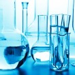 Chemical laboratory glassware — Foto Stock