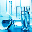 Chemical laboratory glassware — Stock Photo #6441501