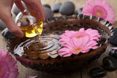 Essential oil for aromatherapy — Foto de Stock