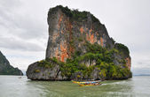 Island Phang Nga, Thailand — Stock Photo