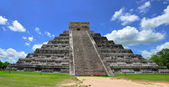 Chichen Itza Pyramid, Wonder of the World, Mexico — Stock Photo