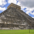 Chichen Itza Pyramid, Wonder of the World, Mexico — Stock Photo #6266552
