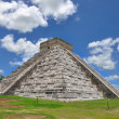 Chichen ItzPyramid, Wonder of World, Mexico — Stock Photo #6309949