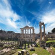 Old city of Rome at the day time, Italy — Stock Photo
