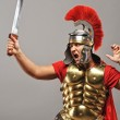 Legionary soldier ready for a war — Stock Photo #5785770