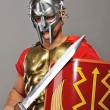 Stock Photo: Legionary soldier ready for war