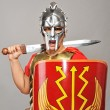 Legionary soldier ready for a war — Stock Photo #5811495