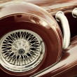 Retro car fragment — Stock Photo #5812754