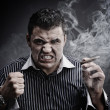 Portrait of a man smoking cigar — Stock Photo #5812852