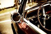 Retro auto fragment — Stock fotografie