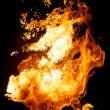 Stock Photo: Fire explosion
