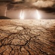 Storm in desert — Stock Photo #5893569