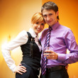 Beautiful couple — Stock Photo #5893595