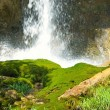 Beautiful waterfall - Stock Photo