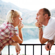 Middle aged couple outdoors — Stock Photo #5893720