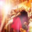 dancing in the night club — Stock Photo
