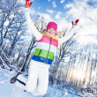 Stock Photo: Winter fun