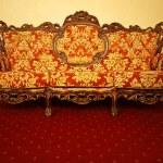 Vintage luxury sofa — Stock Photo