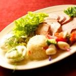 Tasty food on a table — Stock Photo