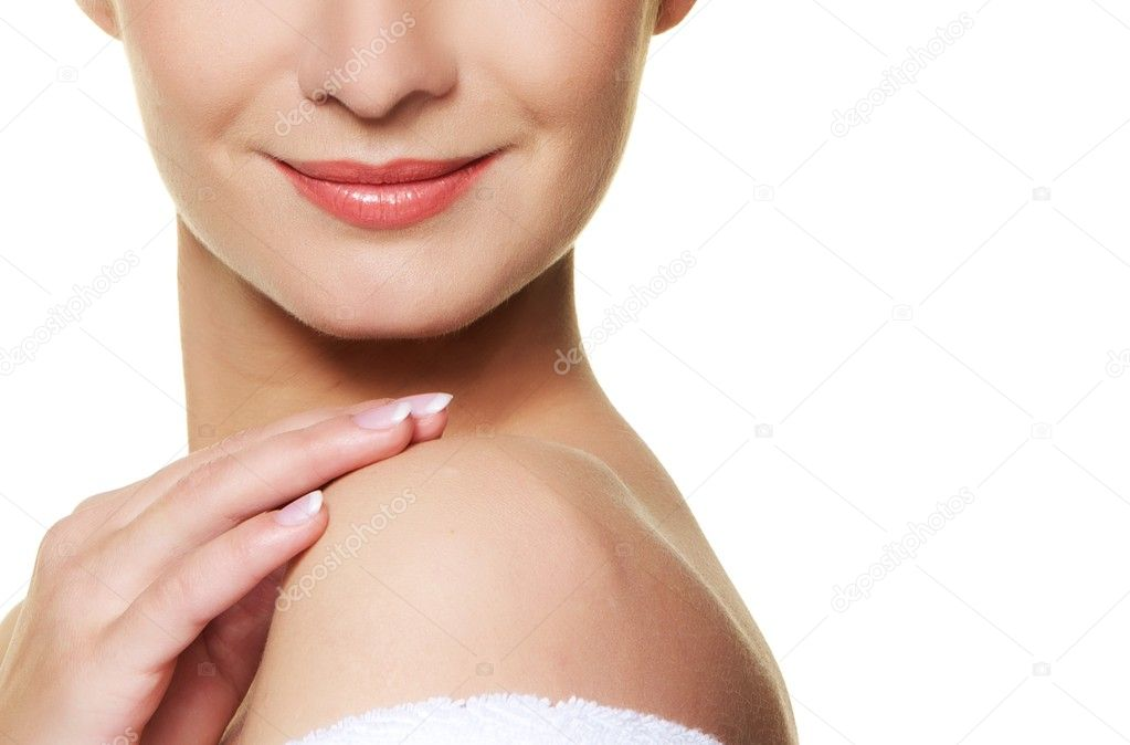 Close-up portrait of a woman face — Stock Photo #6229229
