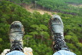 Hiking boots — Stock Photo