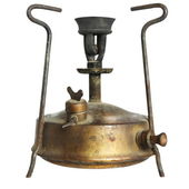 Old camping stove (primus) — Stock Photo