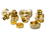 Pipe fittings — Stock Photo