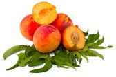 Broskev ovoce — Stock fotografie