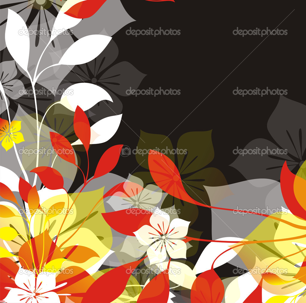 Floral illustration  Stock Photo #5697700
