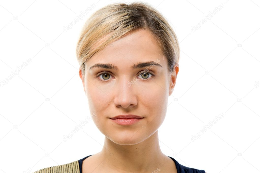 Фото в профиль без макияжа